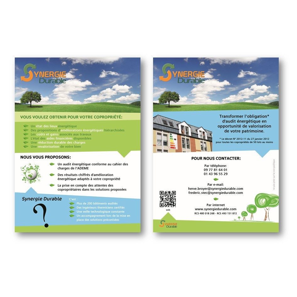 Flyer Synergie Durable