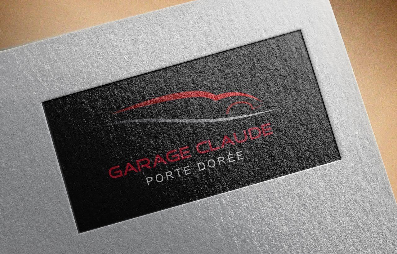 Logo Garage Claude Porte Dorée
