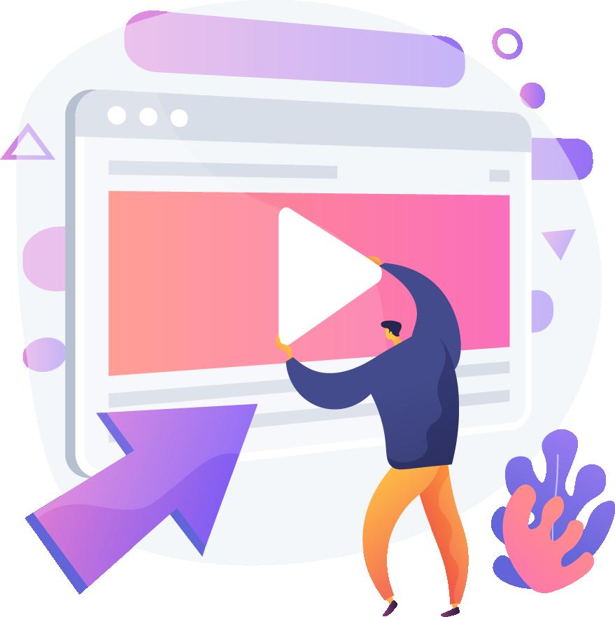 Création de vidéo motion design, création de vidéo animée, vidéo d'entreprise