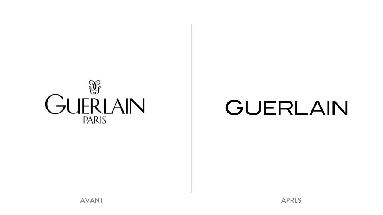 Logo Guerlain Avant / Après
